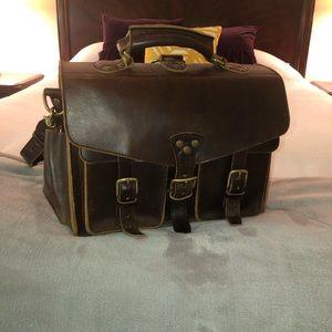 Custom Leather Bag - Men's